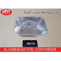 Wholesale Deep Roast Disposable Aluminum Foil Pans 32cm X 26cm X 11cm Size 5400ml Volume from china suppliers