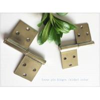 Quality Brass Bp Colorheavy Duty Lift Off Hinges , Lift Off Door Hinges Removable Type for sale