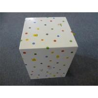 China Personalized Rectangular Paper Gift Boxes decorated Polyester Ribbon wholesale