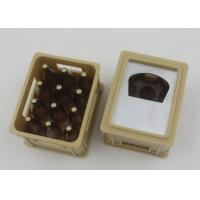 China Plastic ABS + Metal Automatic Bottle Opener Crate Shaped With Logo Imprint on sale