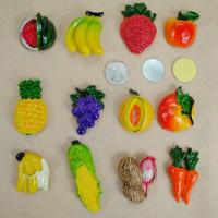 Wholesale 3D Mexico Fruit Fridge Decoration Magnets Film Covered Design Eco Friendly from china suppliers
