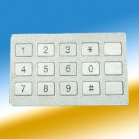 Wholesale Encryption PIN PAD Stainless Steel Keypad For Bank Kiosks , ATM Machine from china suppliers