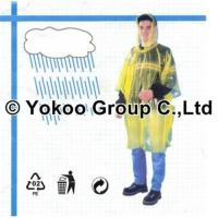 Wholesale disposable PE poncho for promotion from china suppliers