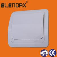 Wholesale European style flush mounting one gang one way wall switch (F2001) from china suppliers