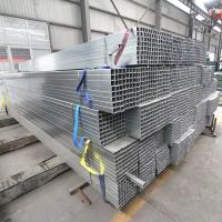 Wholesale ERW Galvanised Square Hollow Section , Hot Dipped Galvanized Square Tubing from china suppliers