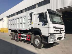 Wholesale SINOTRUK Howo 6x4 3 Axle Dump Truck 30 Tons Loading Heavy Duty Dump Truck Tipper Truck from china suppliers