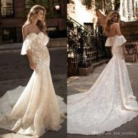 Buy cheap Blue 100% Polyester , Modern Ladies Wedding Dresses with Long Sleeve from wholesalers