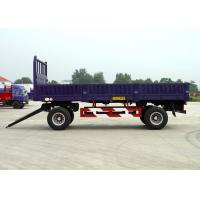 Wholesale 26ft 2 Axles Drawbar Drop Side Trailer For Bulk Cargos And 20ft Container from china suppliers