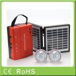 China Wholesale 3.4W 9V lead acid battery portable mini power solar home lighting system wholesale