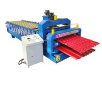 Buy cheap Nigeria Bamboo Tile Double DeckRoofing Panel Roll Forming Machine from wholesalers