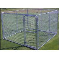 1.8m Height Strong Large Metal Dog Kennel Portable Dog Fence For Camping