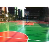 Wholesale Multi Purposed PU Outdoor Sports Court Flooring Thick For Basketball Court from china suppliers