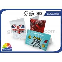 Wholesale Custom Festival Greeting Cards Printing Service for Birthday Cards with Art Paper from china suppliers