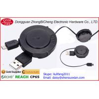 Wholesale 4 cores One Way Retractable Cable , Micro 5pin To Open Wires Cable from china suppliers