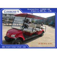 Wholesale Fuel Type Esix Seater Electric Car , Club Precedent Golf Cart 80km Range from china suppliers