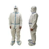 Wholesale Lightweight Disposable Protective Coverall Breathable Dust Proof Anti - Static from china suppliers