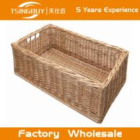 Wholesale Factory wholesale high quality 100% nature handcraft wedding basket decoration rattan wicker bread baskets from china suppliers