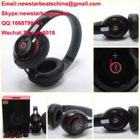 Wholesale HOT!!!New black/white/red beats wireless studio v2 headphone beats solo 2 v2 headphone by dr dre from china suppliers