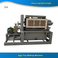 Wholesale Small manufacturing machines air dryer paper egg tray machine line from china suppliers