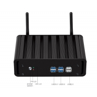 Wholesale 2.7Ghz Type C HTPC Linux ITX MINI PC I7 7500U VGA HDMI 128G SSD from china suppliers