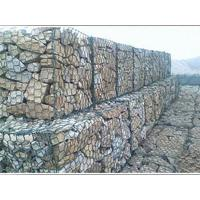 Wholesale Plastic Coated Twist Gabion Wall Baskets Anti Corrosive For Protection River Bed from china suppliers