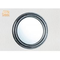 Wholesale Pratical Glass Framed Fiberglass Wall Mounted Vanity Mirror Round Shape from china suppliers
