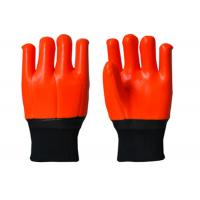 Wholesale Antisepsis PVC Hand Gloves , Cold Weather Work Gloves Excellent Slip Resistance from china suppliers