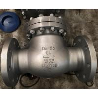 Wholesale Swing Check Valve Flanged Type,A216 WCB body,No.1#Trim,DN150 Presure PN64 from china suppliers