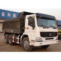 Wholesale 6x4 HOWO Heavy Duty Dump Truck , Commercial Heavy Tipper Trucks LHD / RHD from china suppliers
