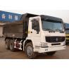 Buy cheap 6x4 HOWO Heavy Duty Dump Truck , Commercial Heavy Tipper Trucks LHD / RHD from wholesalers