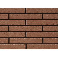 Antique Matte Surface Clay Split Face Brick For Cladding Wall 240*60*12mm