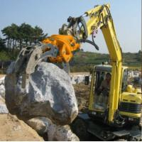 Wholesale Factory price hydraulic rock grapple/hydraulic stone grab for excavator from china suppliers