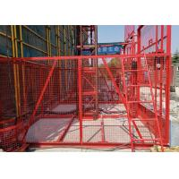 Wholesale Vertical Handling Construction Hoist Safety / Temporary Construction Elevator from china suppliers