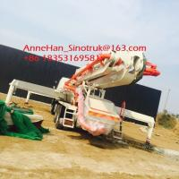 Wholesale Iso Ccc 37m Concrete Pump Trailer HOWO Concrete Mixer Truck Energy Saving from china suppliers