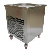 Wholesale Simple Operation Manual Fried Ice Cream Roll Machine Single Pan Cold Plate from china suppliers