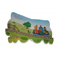 Wholesale PMS Customized Shape Books For Toddlers Hot Stamping Finishing from china suppliers