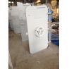 White Coating Round Window Marine Watertight Door With Wheel Handle