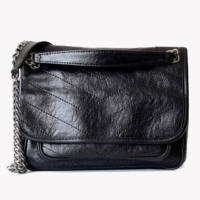 Wholesale Newest Design Retro Genuine Leather Ladies Cross Body Shoulder Bag from china suppliers