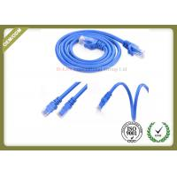 Wholesale Blue Color Cat6 Network Patch Cord 24AWG With RJ45 Plug Connector from china suppliers