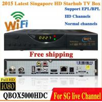Wholesale 2015 Latest Singapore Starhub HD Cable TV Receiver QBOX 5000HDC Set Top Box Upgraded From QBOX HDC 4000 blackbox wifi from china suppliers