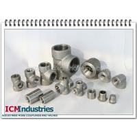 Wholesale 3000 lbs high pressure Forged stainless steel pipe fittings from china suppliers
