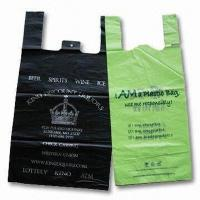 Retail t shirt bags quality retail t shirt bags for sale for Personalized t shirt bags