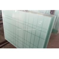 China 6.38mm - 40.3mm CE and ISO9001 Curtain Wall Tempered Laminated Glass For Home wholesale