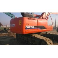 Wholesale $40000 Good used excavator machine DOOSAN DH220LC-7 2009 made, original paint from china suppliers