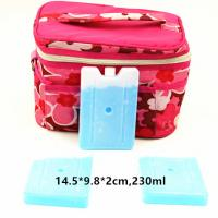 FDA Approved 230ml Cool Bag Ice Packs For Lunch Bag Cool Box Blocks