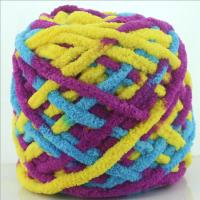 Wholesale 0.16NM super soft north pole fluffy chenille yarn for blanket knitting from china suppliers