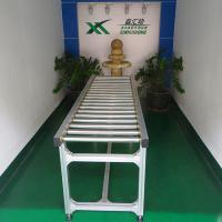 Buy cheap Transportation Gravity Roller Conveyor Systems Straight Running Fire Resistant from wholesalers