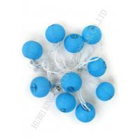Wholesale Romantic Round Paper Ball String Lights , Outdoor Mini Lantern String Lights from china suppliers