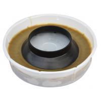 Wax ring with flange of item