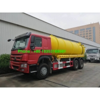 Wholesale 95km/H 17CBM 6x4 Sewage Suction Truck With Italy Pto Pump from china suppliers